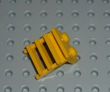LEGO - PLATE, Modified 1 x 2 with Ladder, YELLOW x 2 (4175) PM194