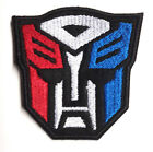 """Transformers Red/White/Blue Face Logo 2.75"""" Patch- FREE S&H (TRPA-18)"""
