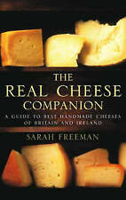 The Real Cheese Companion, Freeman, Sarah, Very Good condition, Book