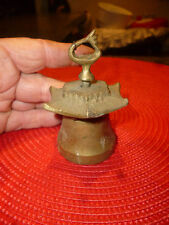 Petite Cloche Clochette Bronze Chine Japon Tibet PAGODE China Japan Brass Bell