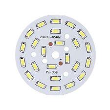 12W Rund 5730 SMD Lampe Platte 24 LED super helle Chip Licht Birnen Weiss ET