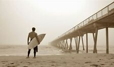 IN THE MIST - JASON ELLIS POSTER 24x36 - SEXY SURFER SURFING BEACH 36403