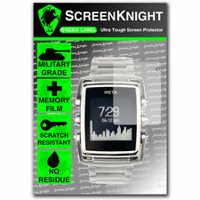 ScreenKnight Meta M1 Watch Front SCREEN PROTECTOR invisible military shield