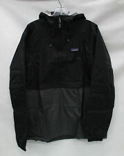 Patagonia Mens Torrentshell Rain Pullover Jacket 83932 Black Size Medium