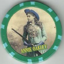 ANNIE OAKLEY   OLD WILD WEST  COLLECTOR CHIP