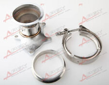 "T3 T3/T4 5 Bolt Turbo Downpipe Flange to 3"" V Band Conversion Adaptor Kit"