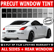 PreCut Window Film Any Tint Shade VLT for Ford Glass - 2ply HP All Sides + Rear