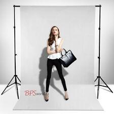 Pro Studio Photo 3m x 6m White Muslin Cotton Background Backdrop 3'' Rod Pocket