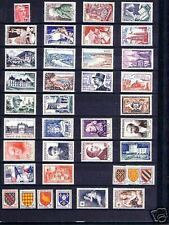 FRANCE STAMP ANNEE COMPLETE 1954 NEUVE xx TTB, 40 TIMBRES , VALEUR: 323€ !