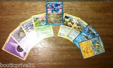Lot 10 Cartes Pokemon - Booster reconditionné dont 1 carte brillante