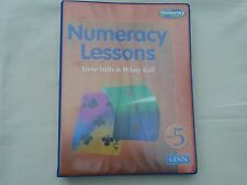 NUMERACY LESSONS - YEAR 5 Steve Mills & Hilary Knoll. Pub by Ginn. Good Cond