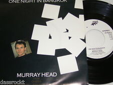 "7"" - Murray Head / One Night In Bangkok & Merano - 1985 # 4051"