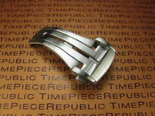 18mm Deployment Buckle Swiss 316L Stainless Clasp Brush Seamaster Planet Ocean