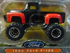 JADA 56 1956 FORD F-100 PICKUP TRUCK AUTH DETAILED BIGTIME 4 WHEELIN COLLECTIBLE