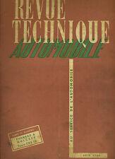 (C16) REVUE TECHNIQUE AUTOMOBILE CHENARD et WALCKER CPV / ROSENGART