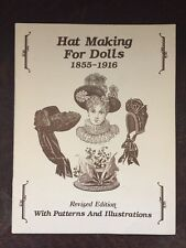Hat Making for Dolls 1855-1916 w/ Sewing Patterns & Illustrations Blau