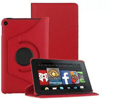 "FUNDA CARCASA GIRATORIA 360º TABLET AMAZON KINDLE FIRE 7"" - ROJO"