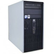 PC  COMPUTER FISSO USATO GARANTITO  HP DC5800 tower DUAL CORE 4 GB 250 WIN 7