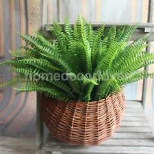 Large Plastic Lifelike Artificial Fern Foliage Bush Plants Indoor/outdoor