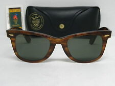 New Vintage B&L Ray Ban Wayfarer Olympic Games Series USA Tortoise Mate Tortoise