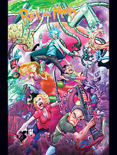 """Rick and Morty Season 1 Poster (18"""" x 24"""") - Limited Edition!"""