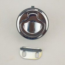 "ONE Piece Marine Boat Deck Hatch 1.5"" Flush Pull Latch Lock Serviceable"