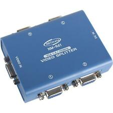 1 to 4 Port VGA SVGA Video LCD Splitter Adapter 1 IN to 4 OUT for PC Monitor LCD