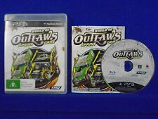 ps3 WORLD OF OUTLAWS +z Sprint Cars Racing Game AUSTRALIAN PAL ENGLISH LANGUAGE
