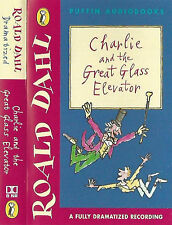 ROALD DAHL CHARLIE & THE GLASS ELEVATOR CASSETTE story  DRAMATISED PUFFIN AUDIO