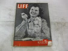 Life Magazine May 19th 1947 Teen Agers Super Sunday Published By Time      mg210