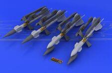 Eduard Brassin 648043 1/48 R-27R/R1/AA-10 Alamo-A misiles (4 Pcs.) C