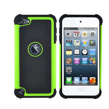 Charming Triple ShockProof Protective Case Cover For IPod Touch 4th Gen L6X