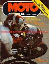 MOTO JOURNAL  228 Fantic 50 Caballero BSA Kit MOTOBECANE FANTIC Dragster 1975