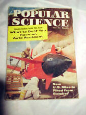 July 1958 issue Popular Science- New U.S. Missile Fired From Bomber
