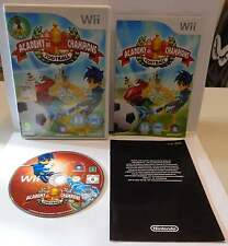 Console Gioco Game NINTENDO WII PAL ITALIANO Play ACADEMY OF CHAMPIONS FOOTBALL