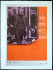 BULLITT 1968 FILM MOVIE POSTER PAGE . STEVE MCQUEEN . S28