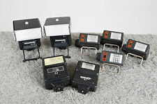 Compact Slave Flashes - Box Lot - Great For Interior Architectural Photography