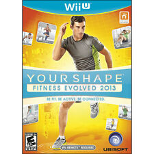 Your Shape: Fitness Evolved 2013 (Nintendo Wii U, Video Game) Brand New Sealed