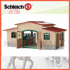 NEW SCHLEICH S HORSE STABLE 42110 FARM LIFE HORSE EQUESTRIAN