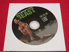 BODY BEAST - BULK: CHEST + BACK + LEGS - New Fitness DVD