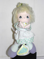 Estate  Precious Moments Songs of Love Limited Edition Blonde Haired Doll LOOK