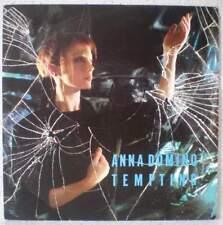 """ANNA DOMINO Tempting RARE 7"""" 1987 alt. poprock BELGIUM Crépuscule"""