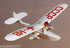 "Model Airplane Plans (FF): SHAVROV SH-2 Amphibian 32"" for .020 or Electric"