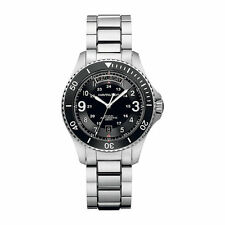 Hamilton Scuba Silver Black Automatic Analog Men's Watch H64515133