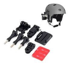 Casco Montaje Lateral Kit Ajuste Curvo Adhesiva para GoPro HD Hero 1 2 3 3+ 4 GB