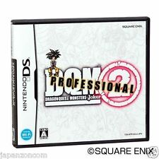 Used DS Dragon Quest Monsters: Joker 2 Professional  NINTENDO JAPANESE IMPORT