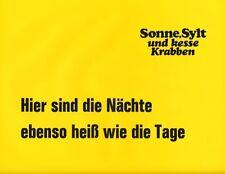 Sonne, Sylt und kesse Krabben ORIGINAL Aushangfoto Ingrid Steeger / C. Schuberth