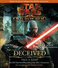 Star Wars: The Old Republic - Deceived, Kemp, Paul S., Good Book