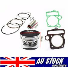 YX 140cc Piston & Rings & Gasket 56mm Pit pro dirt bike Thumpstar Ducar atomik