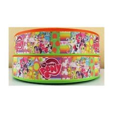 "My Little Pony Ribbon 1"" Wide NEW UK SELLER FREE P&P"